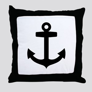 Anchor ship Throw Pillow
