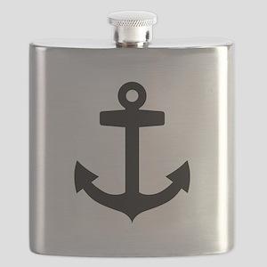 Anchor ship Flask