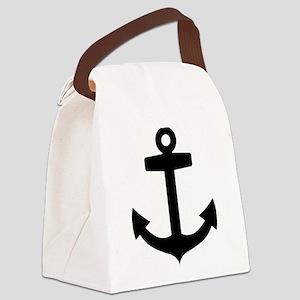 Anchor ship Canvas Lunch Bag