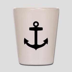 Anchor ship Shot Glass