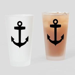 Anchor ship Drinking Glass