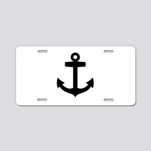 Anchor ship Aluminum License Plate