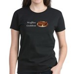 Waffles Goddess Women's Dark T-Shirt