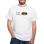 Waffles Goddess White T-Shirt