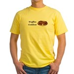 Waffles Goddess Yellow T-Shirt