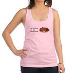 Waffles Goddess Racerback Tank Top