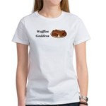 Waffles Goddess Women's T-Shirt