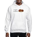Waffles Goddess Hooded Sweatshirt