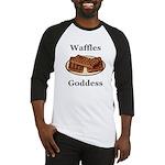 Waffles Goddess Baseball Jersey