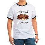 Waffles Goddess Ringer T