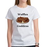 Waffles Goddess Women's T-Shirt