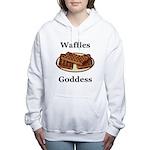 Waffles Goddess Women's Hooded Sweatshirt