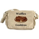 Waffles Goddess Messenger Bag