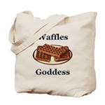 Waffles Goddess Tote Bag