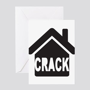 Crack house Greeting Cards