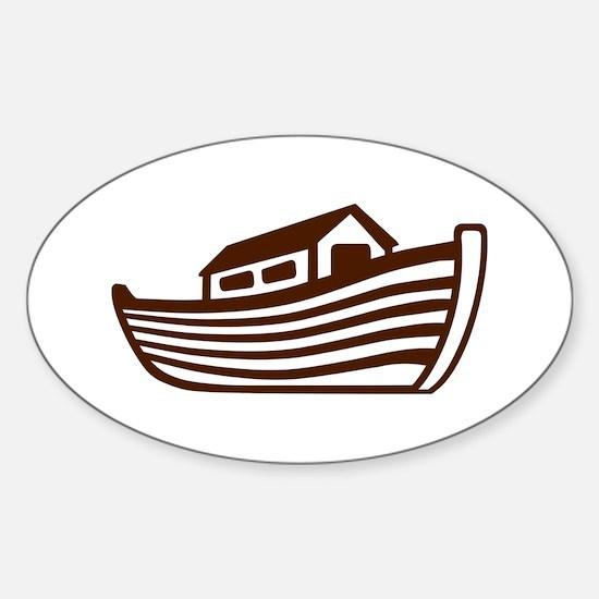 Noah's ark Sticker (Oval)