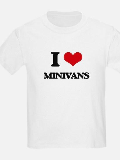 I Love Minivans T-Shirt