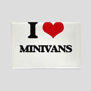 I Love Minivans Magnets