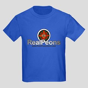 Real Peons Kids Dark T-Shirt