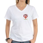Hurlin Women's V-Neck T-Shirt