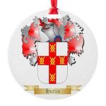 Hurlin Round Ornament