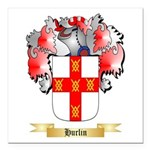 Hurlin Square Car Magnet 3