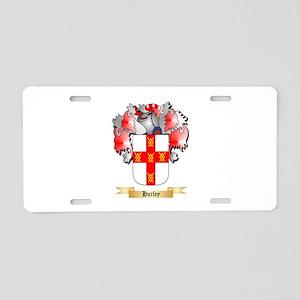 Hurley Aluminum License Plate