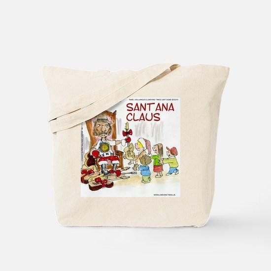 Santana Claus Tote Bag