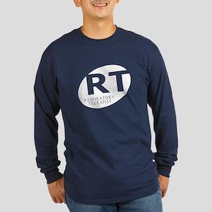 Respiratory Therapist Long Sleeve Dark T-Shirt