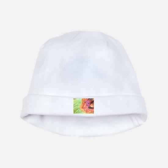 Giant Poppy baby hat