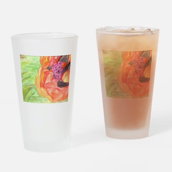 Giant Poppy Drinking Glass