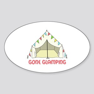 GONE GLAMPING Sticker