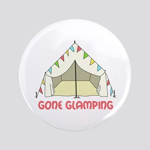 "GONE GLAMPING 3.5"" Button"