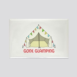 GONE GLAMPING Magnets