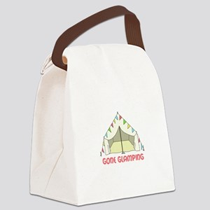 GONE GLAMPING Canvas Lunch Bag