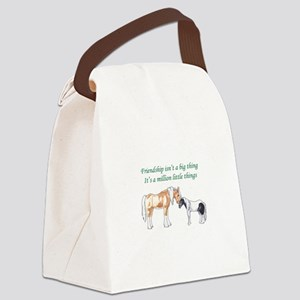 FRIENDSHIP ISNT A BIG THING Canvas Lunch Bag