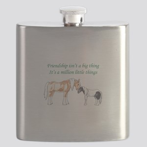 FRIENDSHIP ISNT A BIG THING Flask