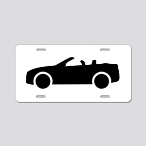 Car convertible Aluminum License Plate