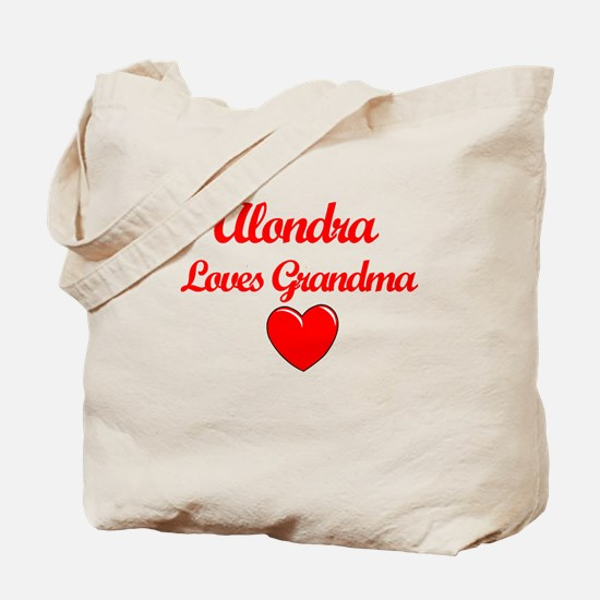 Alondra Loves Grandma Tote Bag