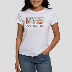 Delta Phi Epsilon Fl Women's Classic White T-Shirt
