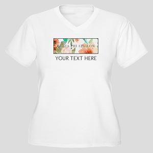 Delta Phi Epsilon Women's Plus Size V-Neck T-Shirt