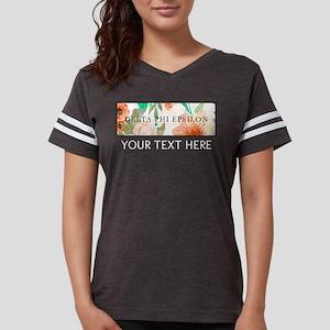 Delta Phi Epsilon Floral Per Womens Football Shirt