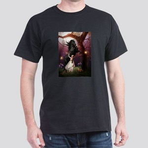 The Girl and the Dark Unicorn T-Shirt