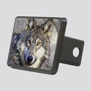 Grey Wolf Rectangular Hitch Cover