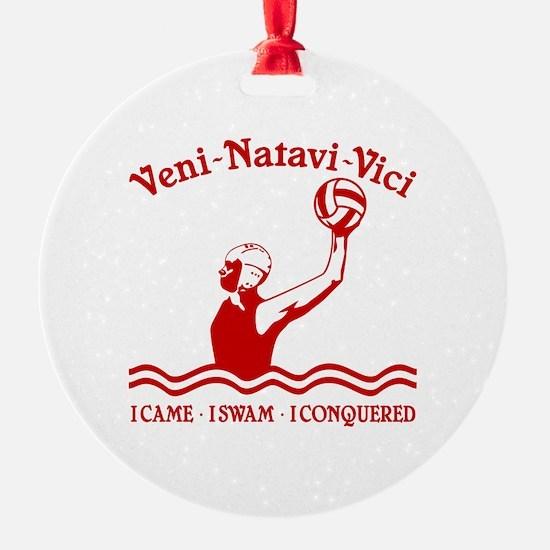 VENI-NATAVI-VICI Ornament