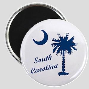 SOUTH CAROLINA PALMETTO Magnets