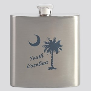 SOUTH CAROLINA PALMETTO Flask