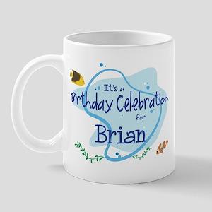 Celebration for Brian (fish) Mug