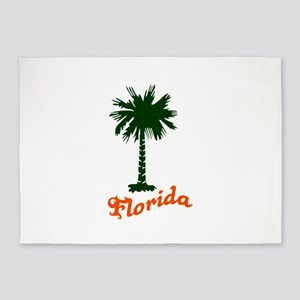 FLORIDA PALMETTO 5'x7'Area Rug