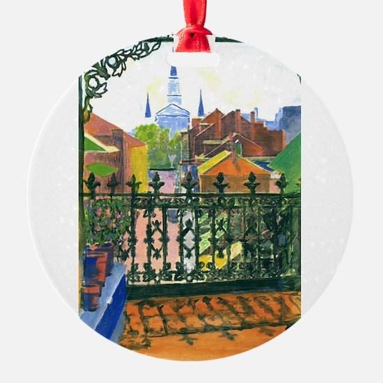 French Quarter Balcony Ornament